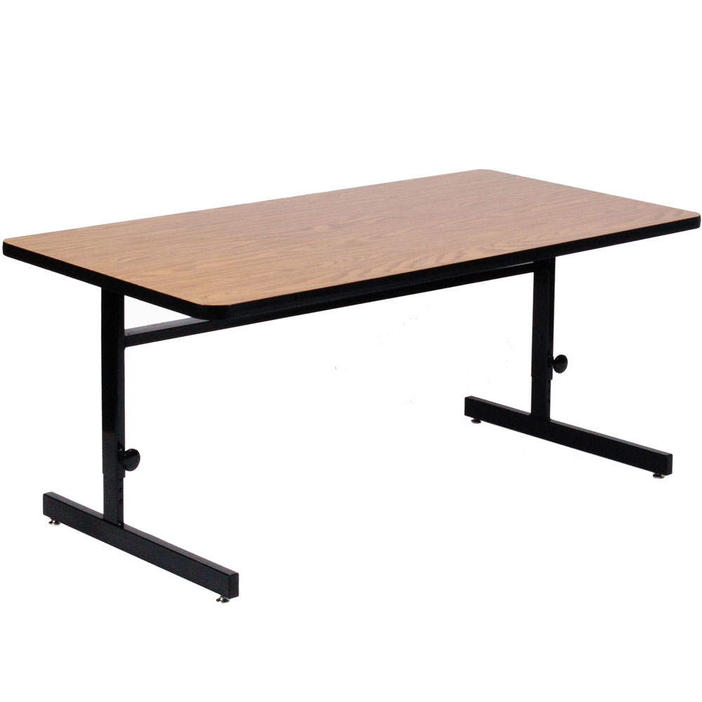 30 X 48 Adjustable Height Computer Table In Desks And Hutches